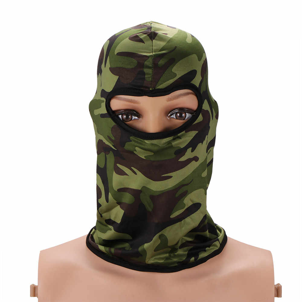Motorcycle Face Mask Wind Cap Police Cycling Balaclavas Winter Warm Ski Snowboard Outdoor Sports Neck Face Mask Face and Neck