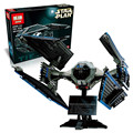 703 pcs lepin 05044 guerra estrela edição limitada a tie interceptor 7181 blocos tijolos brinquedos modelo compatiable com lego