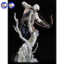 A toy A dream New Connor The Hunter Figurine Classic Game Assassins Assassin's Creed 3 III 10″ Action Figure