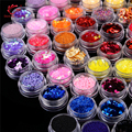 La Belleza del clavo 80 colores/set De Cristal Único Diferentes Diseños DIY 3D Nail Art Rhinestones y Decoraciones Del Arte Del Clavo de Manicura herramientas