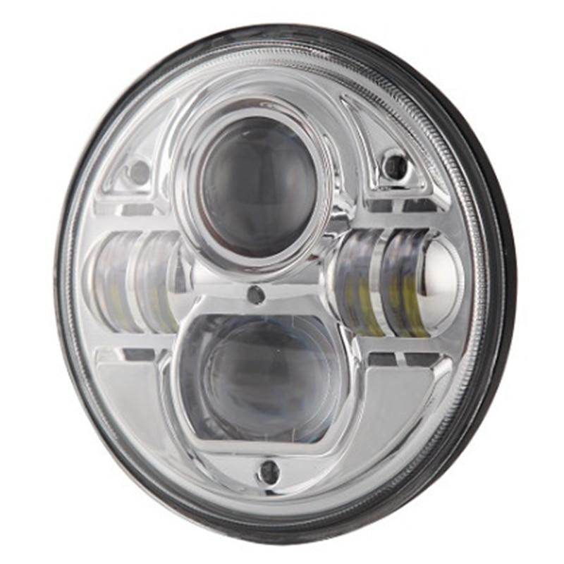 7 дюймов круглые светодиодные фары для Wrangler CJ на мотоцикл в JK и TJ внедорожных транспортных средств