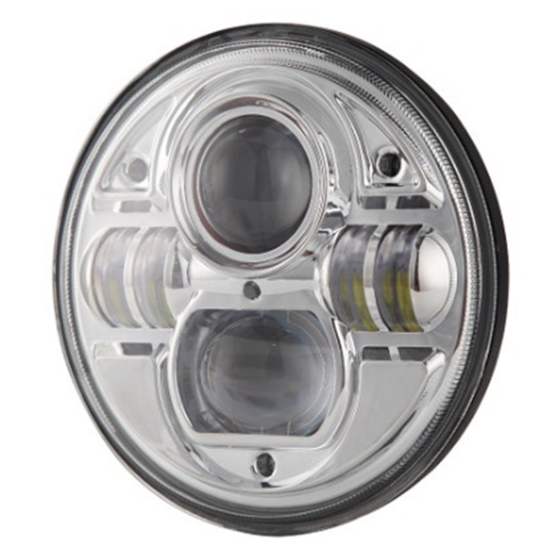 7 Inch Round Led Headlight for Jeep Wrangler Cj Jk Tj Motorcycle Offroad Vehicles