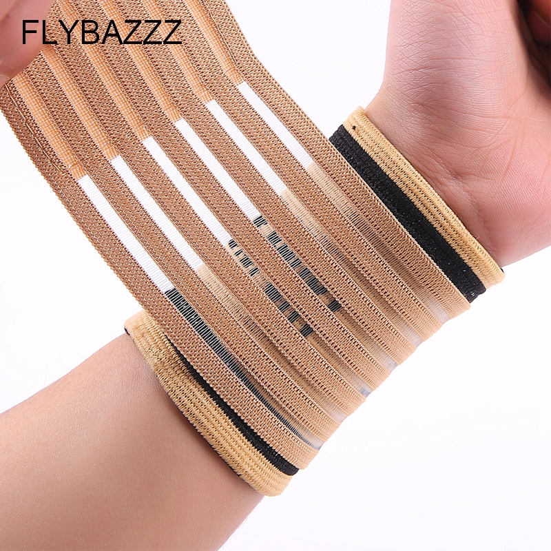 FLYBAZZZ Professional Sports Equipment Basketball Volleyball Fitness Gym Wrist Bandages Pad Wristband hand Support free shipping