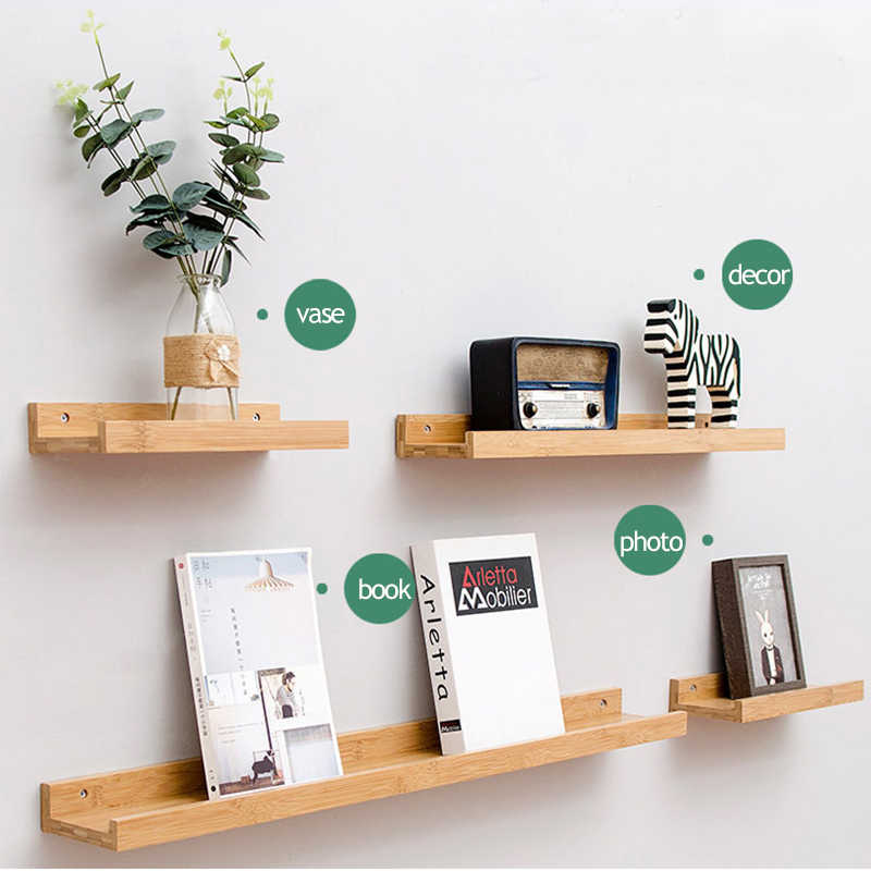 Detail Feedback Questions about Wall Mounted Floating U Shelves Wood ...