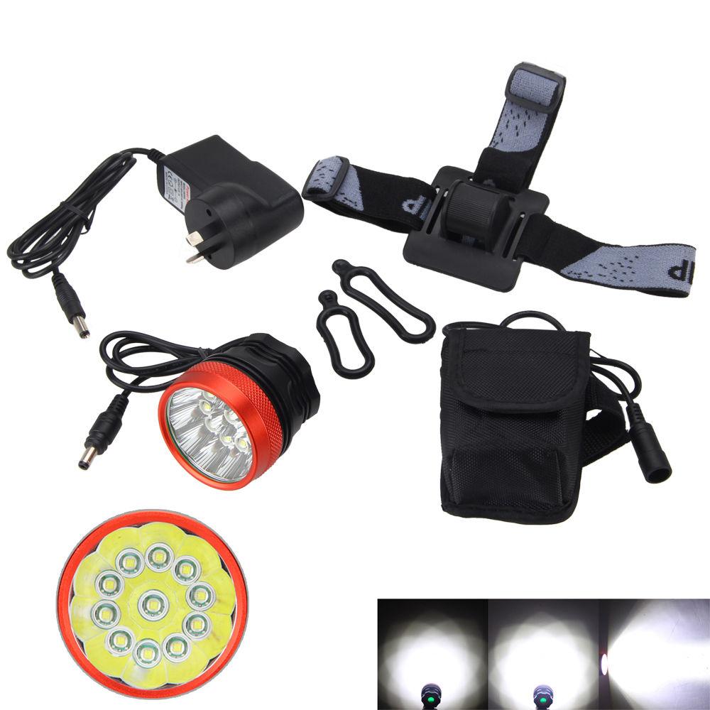 2 in 1 Headlamp Brightness 28000Lumen 11X XML T6 LED Front Bike Light Outdoor Head Lamp +Battery Pack+Charger sitemap 35 xml