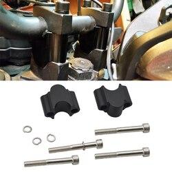 Matte Black Handlebar 30mm Riser Kit For 7/8 inches Bars Fits for Suzuki Kawasaki Honda Yamaha Motorcycle ATV Dirt Bike