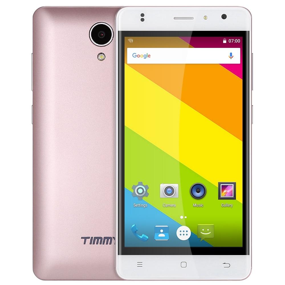 Цена за Timmy M23 Смартфон Android 6.0 5.0 Дюймов 4 Г MTK6737 Quad ядро Мобильного Телефона 1.3 ГГц 1 Г + 8 Г Bluetooth 4.0 GPS Разблокирована мобильный телефон
