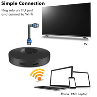 Dongle Receiver 1080P HD Wireless WiFi Display TV Box Stick Airplay Miracast Media Streamer Adapter For