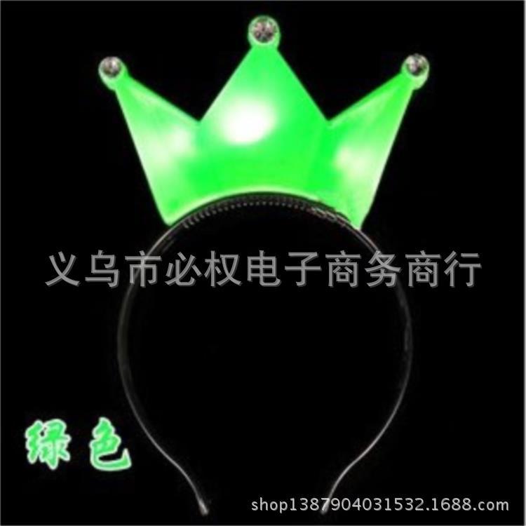 2016 Luminous 117 hair bands hairpin headband flash buckle star bar birthday party toys 2pcs free shipping