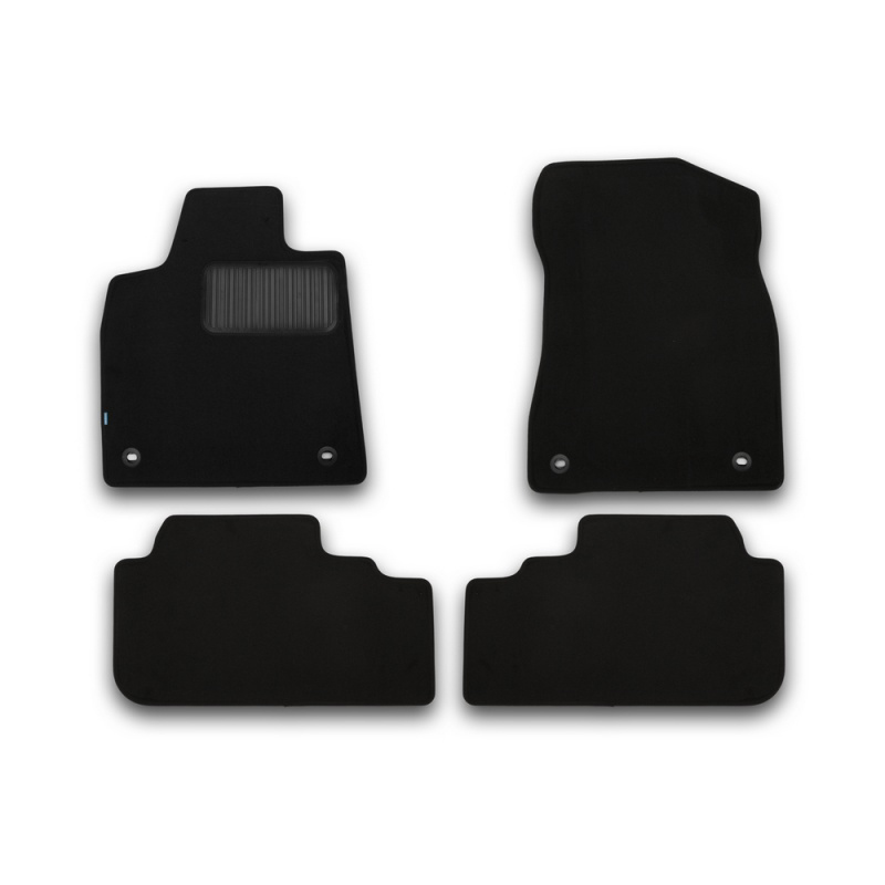 Mats in the salon For OPEL Mokka 2012-> 4 PCs (polyurethane, beige) opel mokka 2012