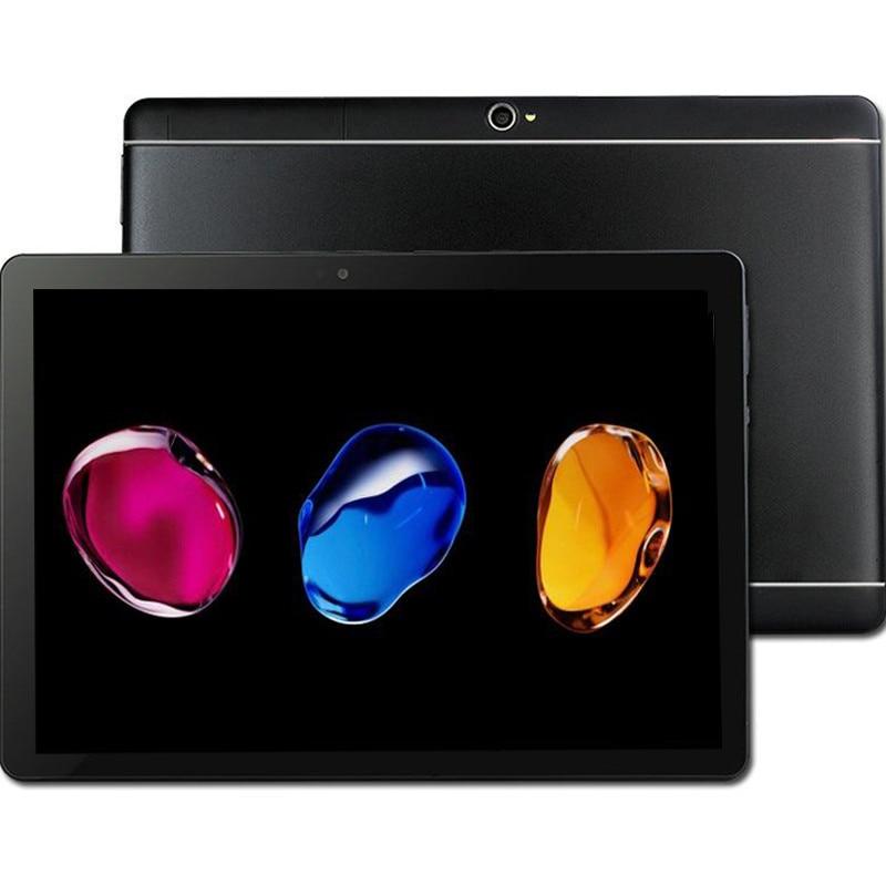 2018 New MT6753 8 Core 3G 4G LTE Tablet 4GB RAM 64GB ROM 1920X1200  8MP Android 7.0 Tablet 10.1 Inch Gps S109  Mobile Tablet