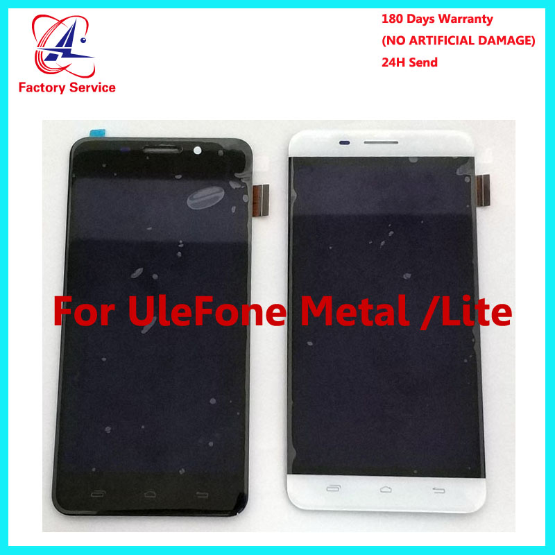 For 100 Original Ulefone Metal CD Display Touch Screen Panel font b Digital b font Replacement