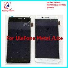 Для 100% оригинальный Ulefone Metal cd-дисплей + Сенсорный экран Панель цифровой Запчасти для авто сборки 5,0 «для Ulefone Metal Lite