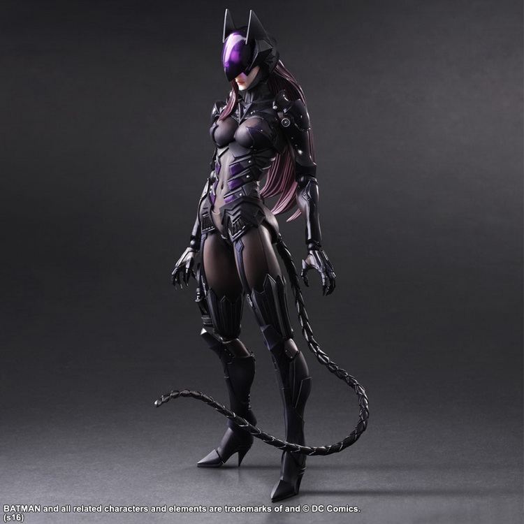 1/7 scale figure doll Batman Comics version catwoman 10 action figure doll Collectible Figure Plastic Model Toys neca dc comics batman arkham origins super hero 1 4 scale action figure
