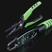 Multifunctional Aluminium Fishing Pliers Fishing Lip Grip With Weight Scale Fishing Pliers Tackles Fish Gripper Hook Recover new style folding fishing lip grip fishing gripper fishing tool with light weight aluminium fishing pliers tackle