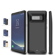 5500 mAh External Battery Power Bank Charger Case For Samsung Galaxy Note 8 Ultra Slim Thin Portable Backup Phone Cover Cases