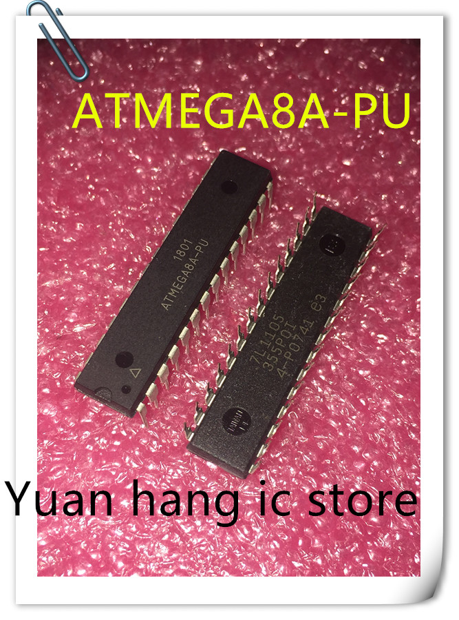 5pcs/lot ATMEGA8A-PU 8K 16MHZ 28-PDIP ATMEGA8A 8 ATMEGA8 8A ATMEGA 8A