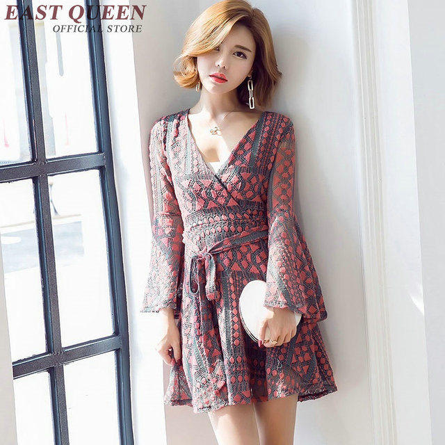Boho Chic Dresses Women Clothing Hippie Bohemian Style Dress Female Summer Beach