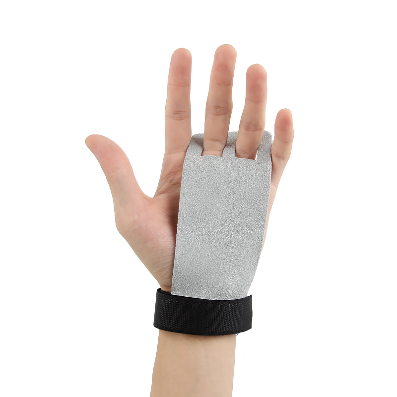 1 Pair S M L Hand Grip Synthetic Leather Crossfit Gymnastics Guard Palm Protector Glove Pull Up Bar Weight Lifting Glove Fitness Fitness Gloves Sports & Entertainment