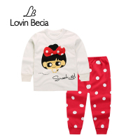 LovinBecia High Quality Autumn Babys Clothes Boys Clothing Sets Long Sleeve Top Pants 2pcs Toddler Girls