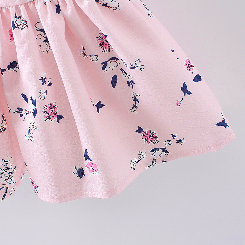 HTB18zgMQFXXXXaOXFXXq6xXFXXXN - LCJMMO 2017 Baby Girl Dress Summer Floral Princess Party Cute Cotton Baby Girls Clothing Kids Lolita bow-knot Dresses For 6-24M