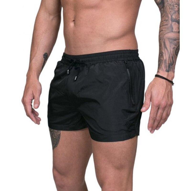 Summer Sexy Swimsuit Swimwear Men Swimming Trunks Sunga Swim Briefs Quick-drying Surf Board Beach Shorts Maillot De Bain Homme