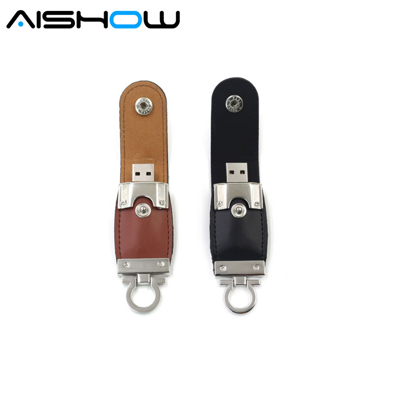 X-G Hot Leather 64GB USB Flash Drive Pen Drive Pendrive Flash Drive Card Memory Stick Drives MicroData Top Free Shipping Top