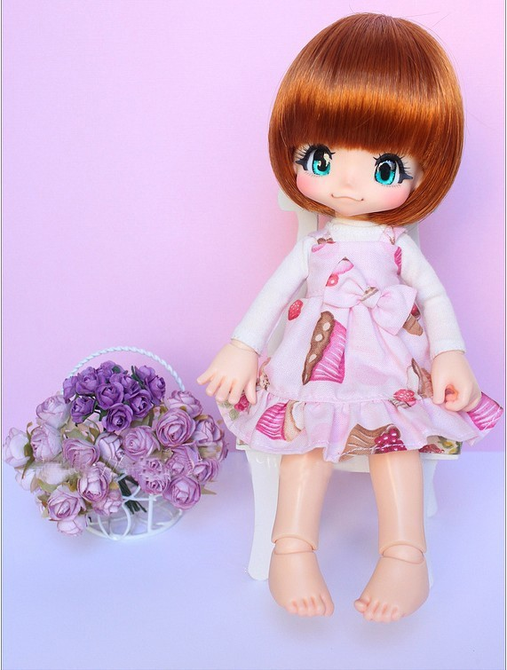stenzhorn BJD Doll 1/6doll kiki Joint Doll Free Eyes stenzhorn bjd doll 1 6doll colette joint doll free eyes