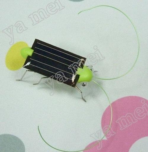 100pcs Solar Toy  Solar Grasshopper,Solar Powered Grasshopper wholsale