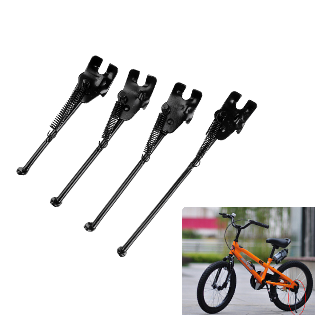 Steel Nonslip Foot Kids Bike Kickstand Side Kick Stand 14/16/18/20inch Universal Kickstand For MTB Bicycle