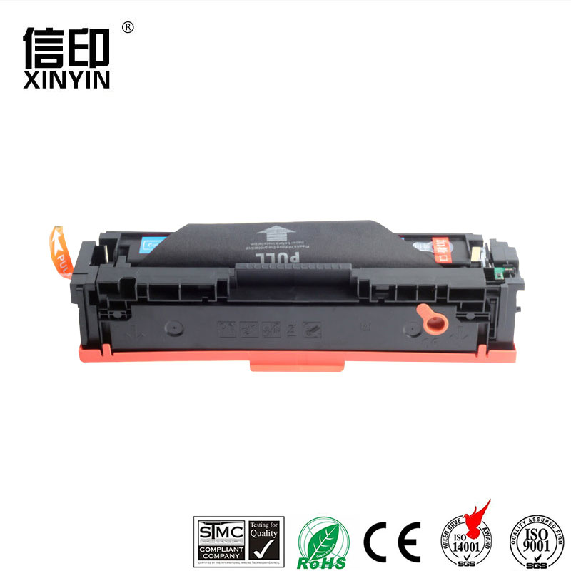 XColor CF400A 201A cf400a-cf403a compatible <font><b>toner</b></font> cartridge for <font><b>HP</b></font> Color LaserJet Pro M252dn 252n MFP <font><b>M277dw</b></font> 277n M274n <font><b>Printer</b></font> image