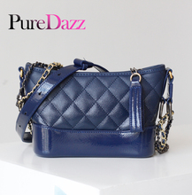 Designer Luxury Brand Women Bag 2019 Leather Shoulder For Lady Chain Ladies Fashion Diamond Lattice Crossbody