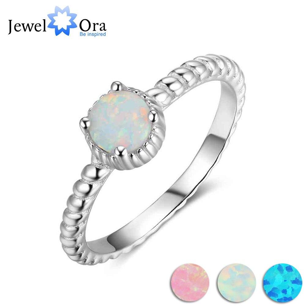 5mm Milky Round Opal Stone...
