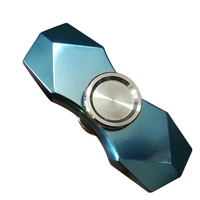 Titanium Alloy Fidget Hand Spinner EDC Glittering Gradient Torqbar Finger Tri Spinner Metal Handspinner Stress R188