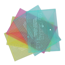 5X A4 Стад пластиковый Поппер файлы папки документов кошелек офис депо многоцветный