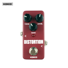 Guitar Parts Accessories KOKKO FDS2 Mini Distortion Pedal Portable pedal True bypass Guitar effect pedal