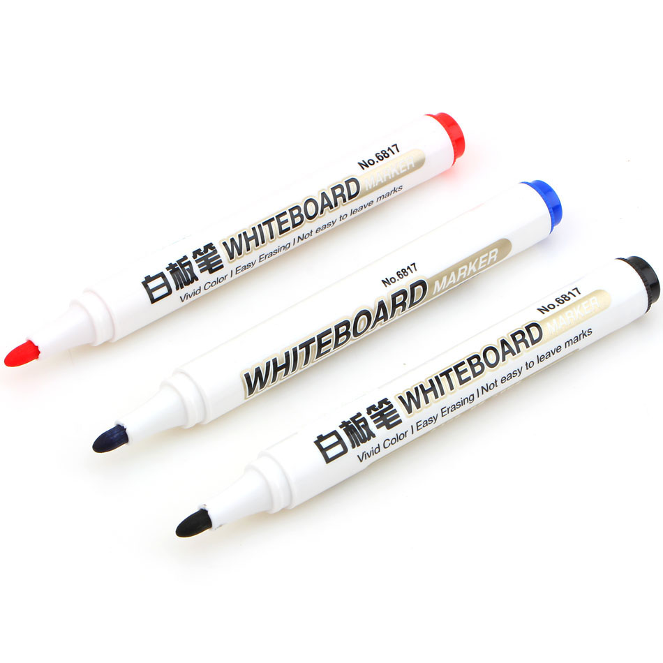 1 pcs Whiteboard Marker Red black ink pen for white board canetas criativas Stationery Office material School supplies