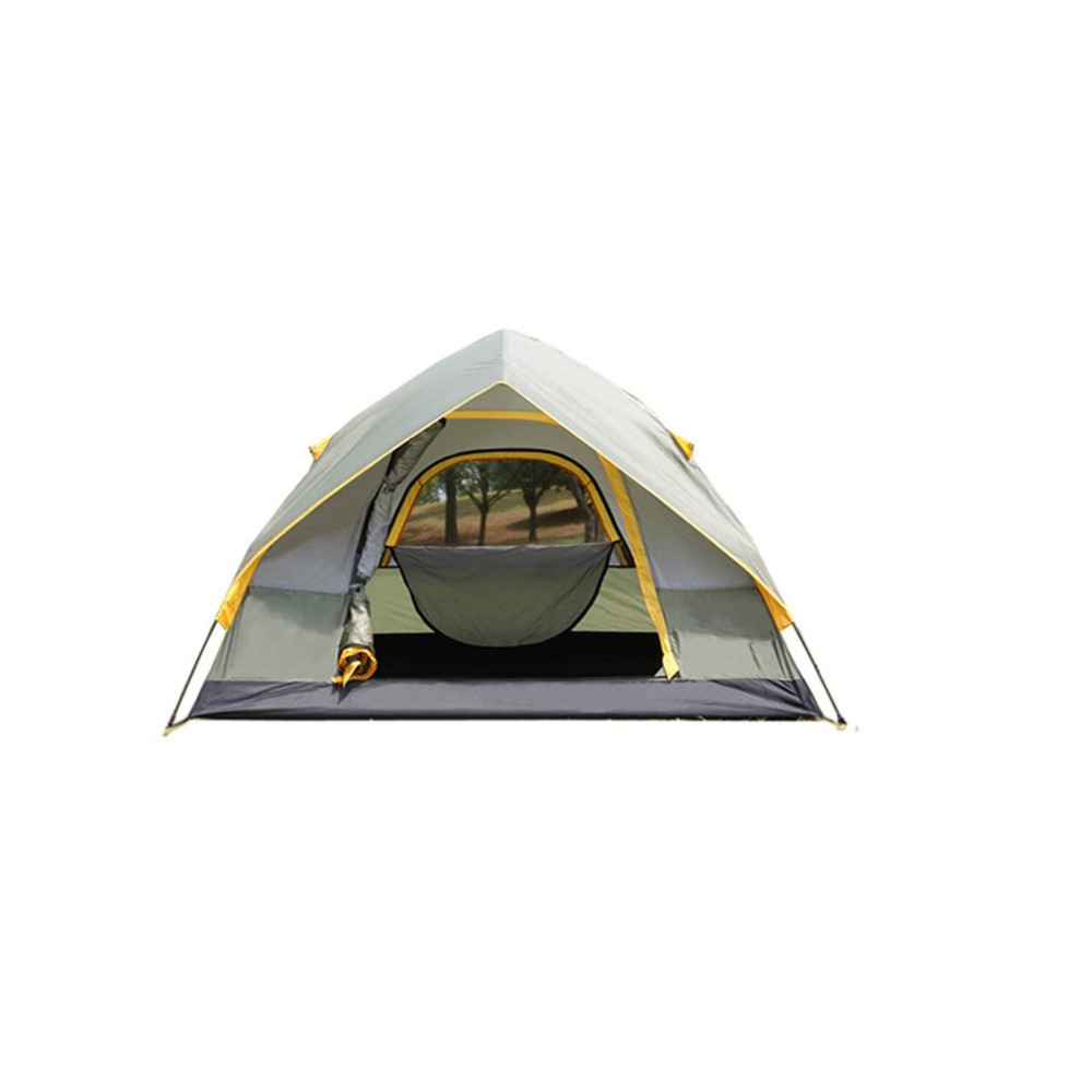 DESERTCAMEL CS062 Automatic Double Layers Tent Portable Foldable 2 Persons Tent Rainproof Outdoor Camping Hiking Tent outdoor camping hiking automatic camping tent 4person double layer family tent sun shelter gazebo beach tent awning tourist tent