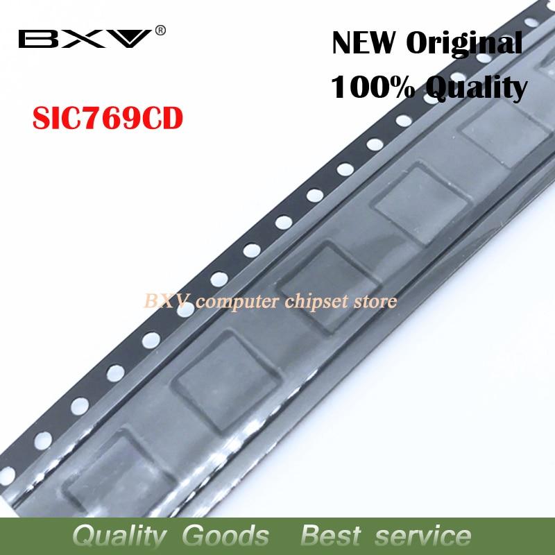 2pcs  SIC769CD SIC769CD-T1-GE3 QFN-40 Chipset New original