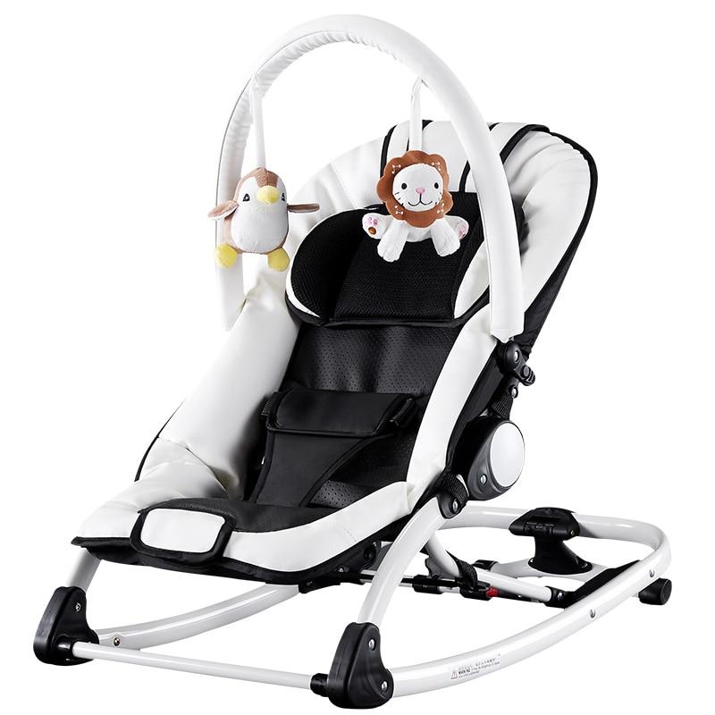 Chbaby musique chaise à bascule bébé lit à bascule enfants berceau