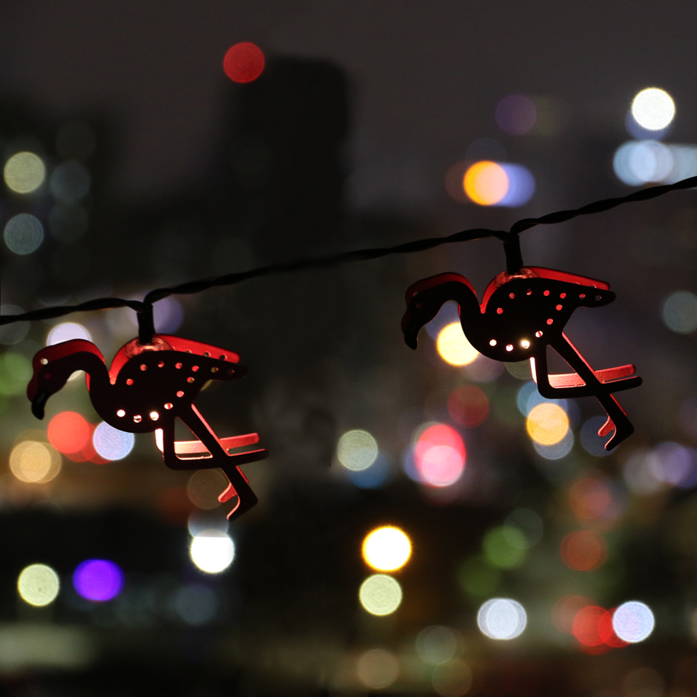 5 modes indooroutdoor decoration christmas metal flamingo shape led 5 modes indooroutdoor decoration christmas metal flamingo shape led string lights waterproof battery powered led fairy lights in led string from lights mozeypictures Image collections