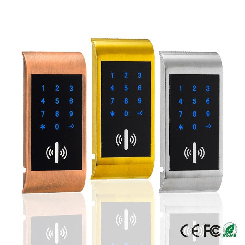 Touch Keypad Password RFID Card Key Metal Digital Electronic Cabinet locker lock