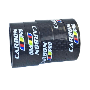 5pcs/lot Cycling Bicycle Parts Bicycle Headset carbon stem spacer 1-1/8 washer 28.6mm cycling parts height 10mm bike