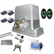Mejor precio de la Buena calidad 1800 KG abridor de puerta corredera automática abridor de puerta motor kits