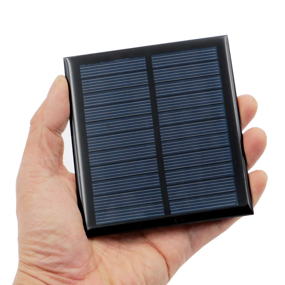 Solar cell 5.5V Mini Solar Panel DIY For Battery Cell Phone Chargers Portable 0.44W 0.55W 0.6W 0.88W 1W 1.6W Solar Cell