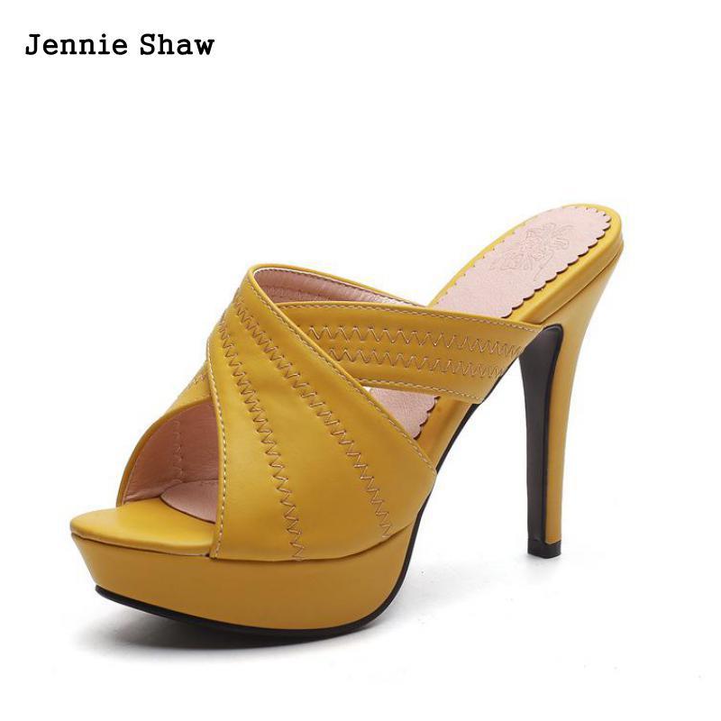 D'été forme Haute Sandalias Beige Talons Femmes jaune Pantoufles Chaussures Sandales Plate noir BCxode