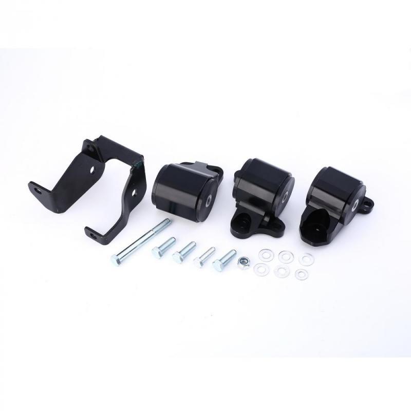Алюминий двигателя замены Mount Kit W/кронштейн для Honda Civic D16 B16 B18 B20 EK 1996-2000 T6061 алюминий двигателей Компоненты крепления
