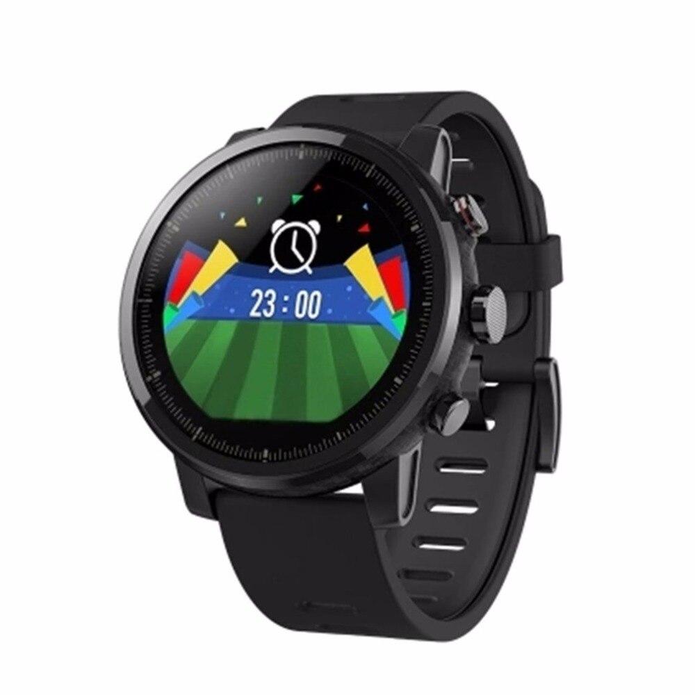 Gps Wi Fi SmartWatch 512 МБ 4 ГБ 5ATM Водонепроницаемый 1,34 дюйма 2.5D Сенсорный экран монитор активности Смарт наручные часы Лидер продаж