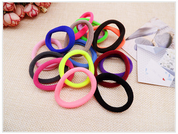 By DHL or EMS 50bags 100pcs/bag New Mix Colors Elastic Ties Rope Ponytail Holders Hair Accessories Tools Hair Styling Tool фото