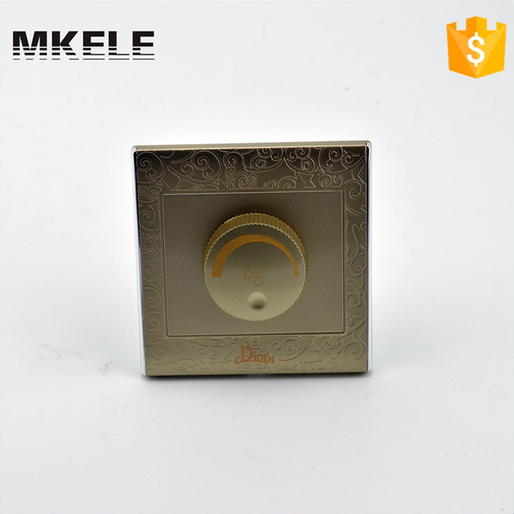 High Quality 220v Household Factory Direct Fan Adjust Speed Rotary Wall Switch MK-WS05031 With Switches Electrical 2016year very hot sale rotary switch for pedestal fan 3 position rotary switch fan speed controller switch high quality switch